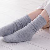 [くらしきぬ]冷えとり靴下 (基本の4足セット)/ライトグレー