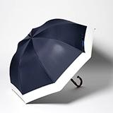 [Rose Blanc]100%遮光性 晴雨兼用コンビ傘50cm