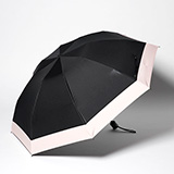 [Rose Blanc]遮光性100%晴雨兼用 折り畳み傘3段ミニ 50cm