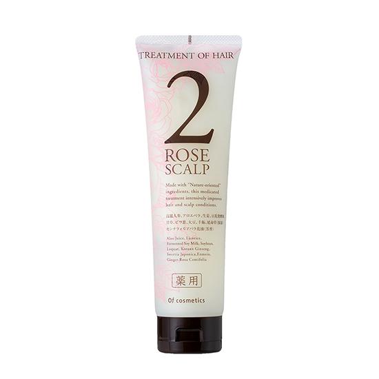 [Of cosmetics]薬用トリートメントオブヘア・2-ROスキャルプ