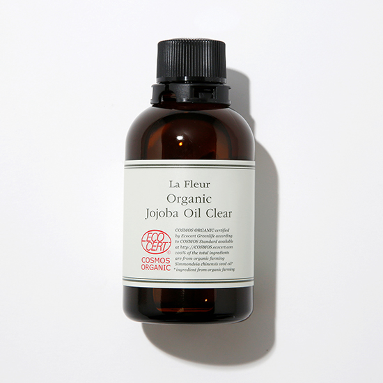 [La Fleur]ラ・フルール オーガニックホホバオイル クリア【2本セット】