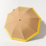 [BICHERIE.]100%完全遮光 晴雨兼用日傘 Mサイズ バイカラー シャンブレー