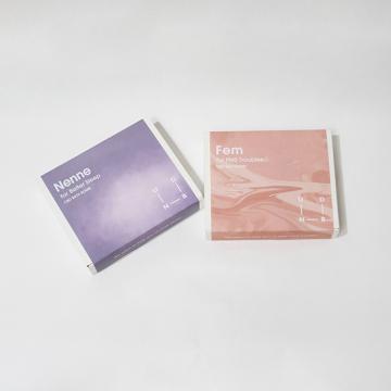 [UNBD]CBDバスボム Nenne&Fem 200mg ペアセット