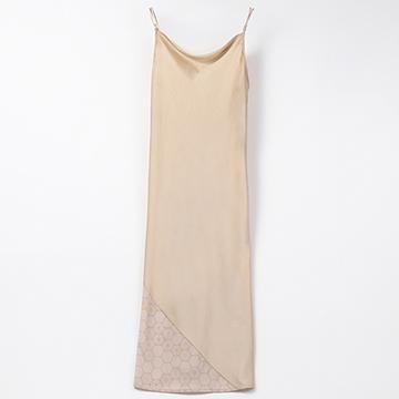 [AMATERAS]satin touch dress