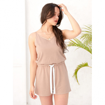 [AMATERAS]cotton rompers