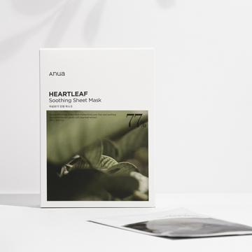 [ANUA][シートマスク]ANUA HEARTLEAF 77% MASK【5枚セット】