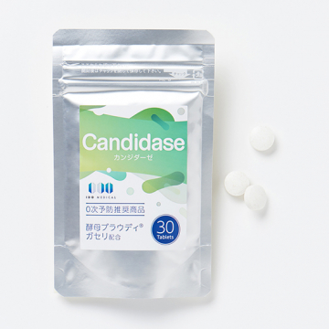 [ドクターレシピの乳酸菌]Candidase(カンジダーゼ)