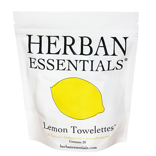 [HERBAN ESSENTIALS]アロマタオル レモン 20包入り