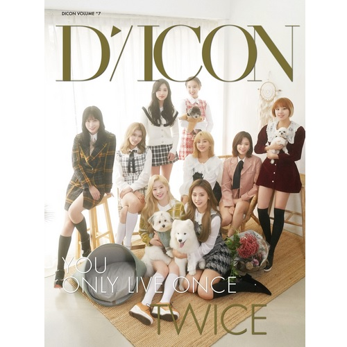 Dicon vol.7  TWICE写真集『YOU ONLY LIVE ONCE』JAPAN EDITION