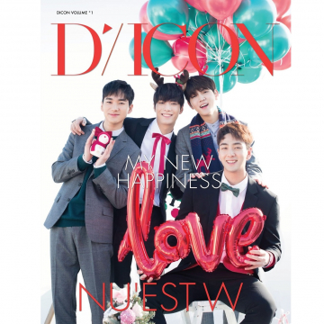 Dicon vol.1 NU'EST W写真集『MY NEW HAPPINESS』JAPAN EDITION