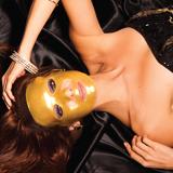 [KOLLAGENX]コラゲネス フェイスマスク 24KT ゴールドコラーゲンマスク 4枚入り