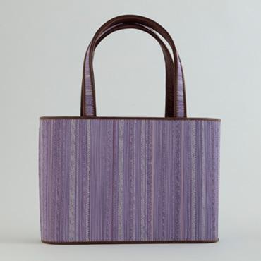 [小玉紫泉つづれ織工房【西陣織】]小玉紫泉つづれ織工房 紫小判トートバッグ