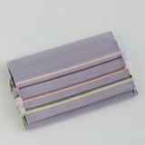 [小玉紫泉つづれ織工房【西陣織】]小玉紫泉つづれ織工房 リボン織り名刺入れ 薄紫