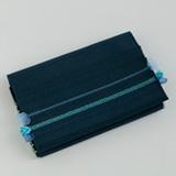 [小玉紫泉つづれ織工房【西陣織】]小玉紫泉つづれ織工房 リボン織り名刺入れ 紺