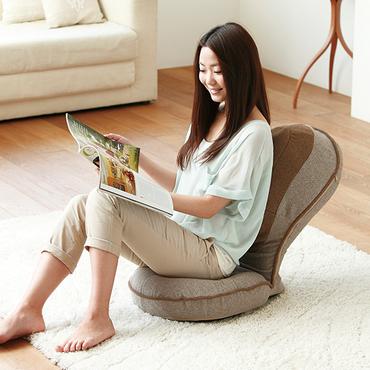 [PROIDEA]背筋がGUUUN美姿勢座椅子リッチ