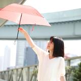 [mabu]超軽量UV折りたたみ傘hane