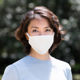洗える抗菌布マスク【大人用】3枚セット(白2枚、グレー1枚)