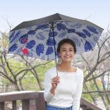 [solshade]100%遮光晴雨兼用ソルシェード【フラミンゴ】