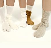 冷えとり靴下4足セット
