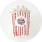 [MONMANNEQUIN]Popcorn Brooch