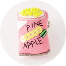 [MONMANNEQUIN]Pineapple Brooch