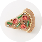 [MONMANNEQUIN]Pizza Brooch