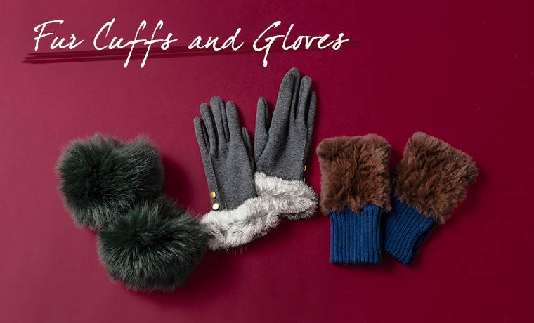 Fur Cuffs and Gloves