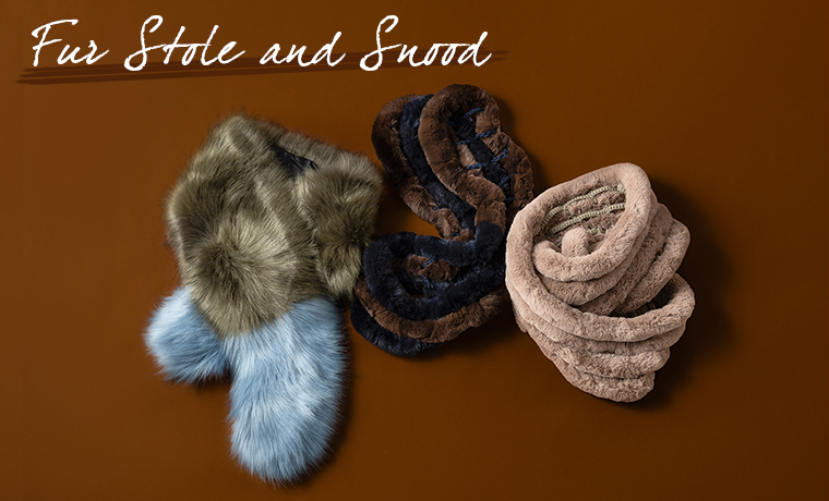 Fur Stole and Snood