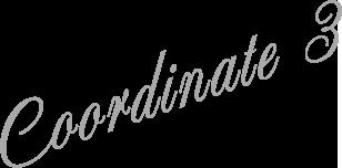 Coordinate 3