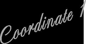 Coordinate 1