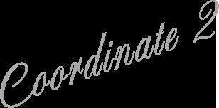Coordinate 2