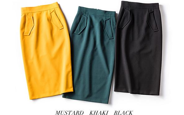 MUSTARD KHAKI BLACK