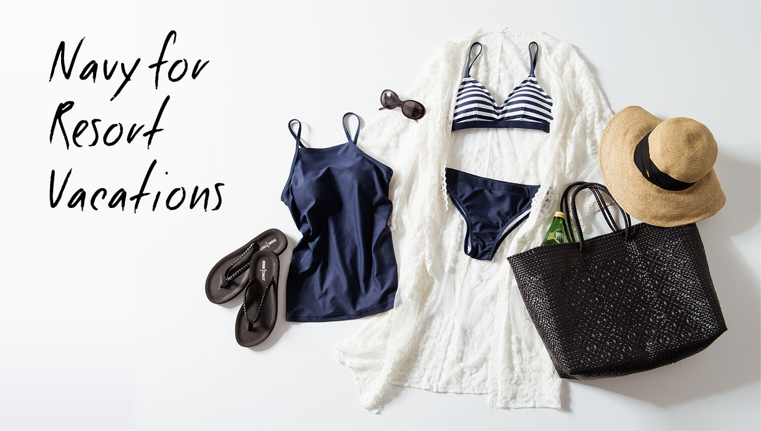Navy for Resort Vacations