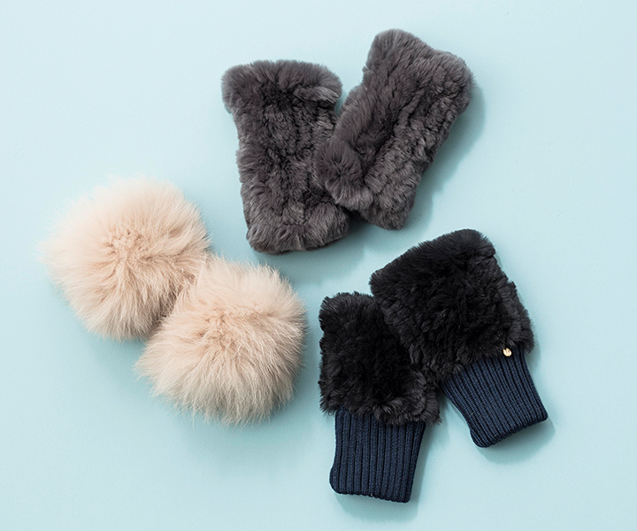 Fur Gloves&Cuffs