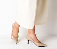 小足なのに甲高&幅広なので、大きめ靴を選んでしまい失敗しがちなんです