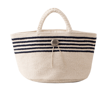 AVALON BORDER BUCKET TOTE