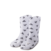 GEOMETRY RAIN BOOTS(MIDDLE)