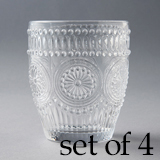 [Wako's Room]Glass cup4個セット