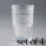 [Wako's Room]Glass tumbler L4個セット