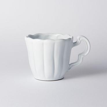[Wako's Room]ストライプホワイトマグカップ 2個セット