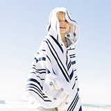 [The Beach People]NAUTIC PETITE PONCHO