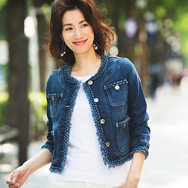 [MONAME]Nocollar Jacket