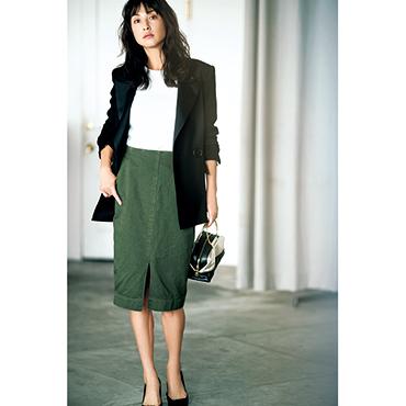 [MOROKO BAR]秋スカートセットアップスカート