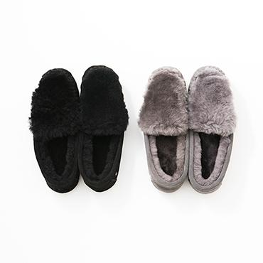 [EMU Australia]スエードファースリッポン/Cairns Reverse Fur
