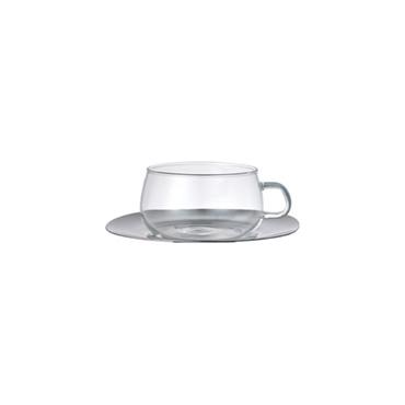 [KINTO]UNITEA カップ&ソーサー 230ml ステンレス