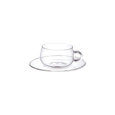 [KINTO]UNITEA カップ&ソーサー 230ml ガラス