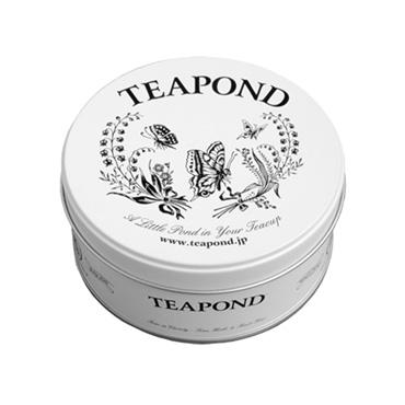 [TEAPOND]ミルクティーブレンド / ティーバッグ8個入 (ミュゲ&パピヨン缶入り)