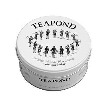 [TEAPOND]ストロベリーサーカス / ティーバッグ8個入 (マーチングバンド缶入り)