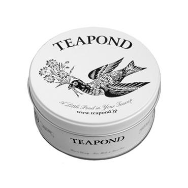 [TEAPOND]アールグレイ ブルーバード/ ティーバッグ8個入 (フラワーバード缶入り)