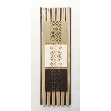 [cohana]お箸飾り6枚セット・利休箸付き